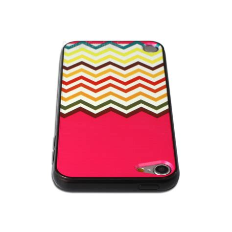 pink pattern cases pink chevron pattern case for apple ipod touch 5 5th gen
