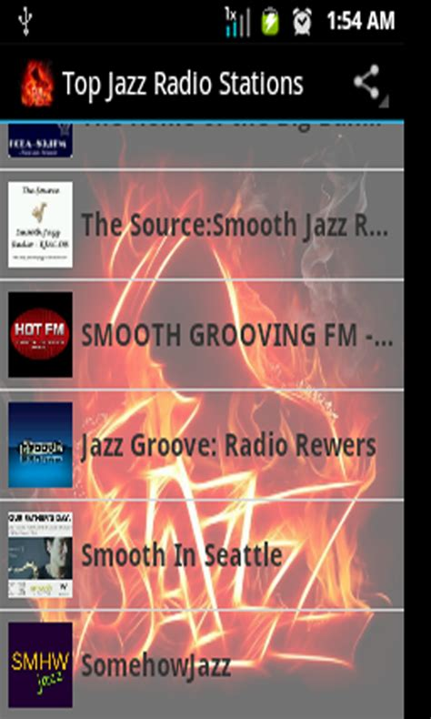 best jazz radio stations top jazz radio stations it appstore per android