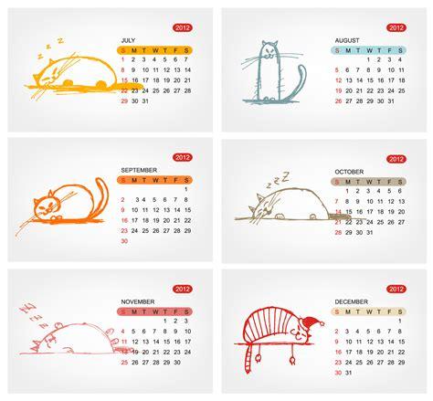 vector calendar template 2012 calendar template 01 vector free vector 4vector