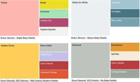 paint color palette nursery room paint my place app