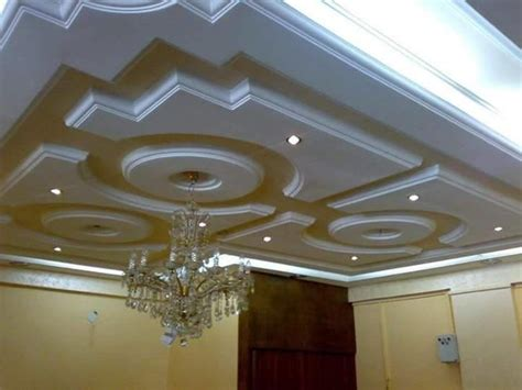 Gypsum Interior Ceiling Design by Residential Gypsum Designs 2016 Modern Living Room