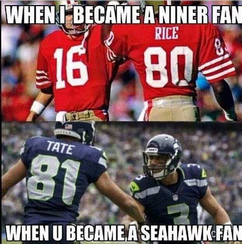 Niners Memes - 38 best seahawks images on pinterest seahawks nfl