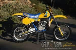 Vintage Suzuki Rm Parts 1984 Suzuki Rm 500 Vintage Motocross Dirt Bike