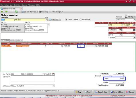 cara membuat invoice pengiriman barang export ppn 1 atas jasa pengiriman barang ekspedisi ke e