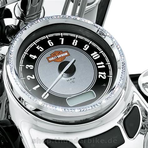 Ring Speedometer Chroom Rx King Original 74548 10 trim ring for 5 quot at thunderbike shop
