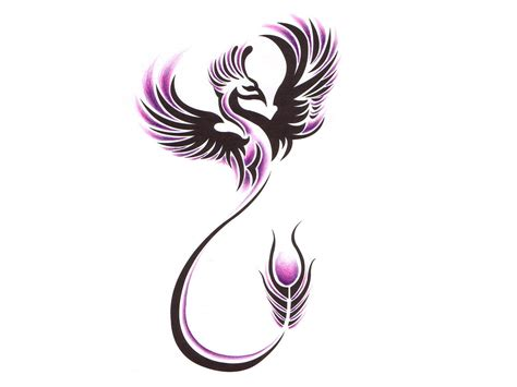 phoenix tribal tattoo designs 32 designs