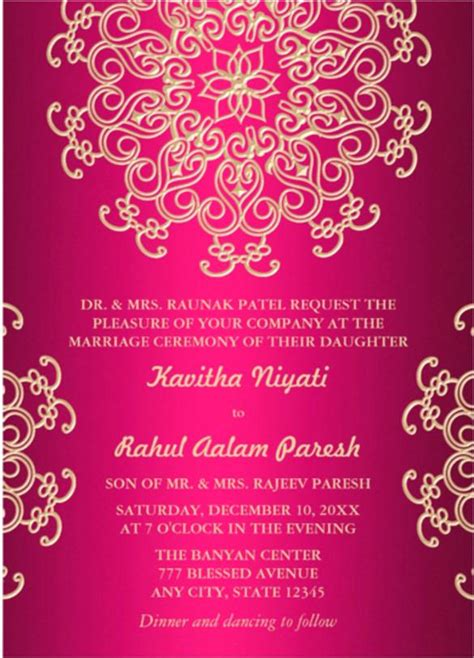 indian baby shower invitation cards templates lovely indian birthday invitation templates or pink