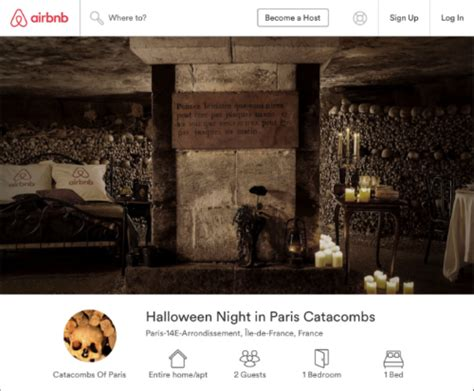 airbnb contest 7 spookily successful digital marketing caigns for