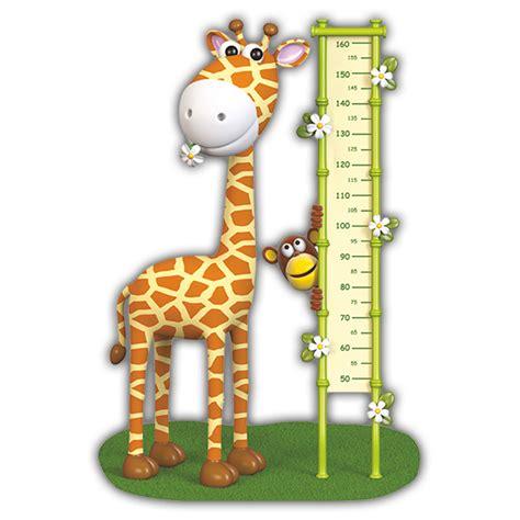 Wandtattoo Kinderzimmer Giraffe by Kinderzimmer Wandtattoo Messlatte Giraffe Farbe