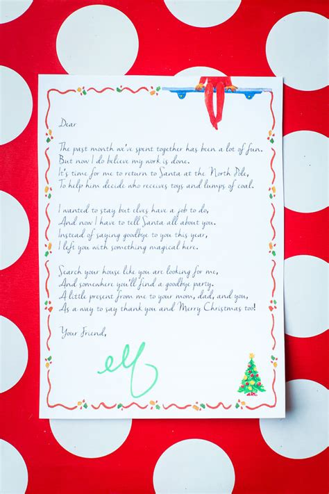 printable elf goodbye elf on the shelf ideas for saying goodbye play party plan