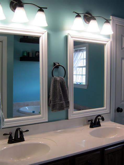 bathroom mirrors design 40 refreshing bathroom mirror designs bored art