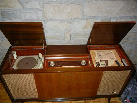 Audio Console vintage console stereos