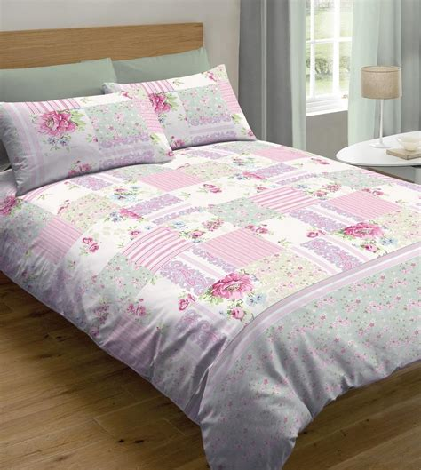 How To Make A Patchwork Quilt Cover - patchwork duvet cover sets mill outlets