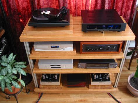good plans   diy audio rack