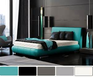 turquoise and charcoal bedroom ideas grey