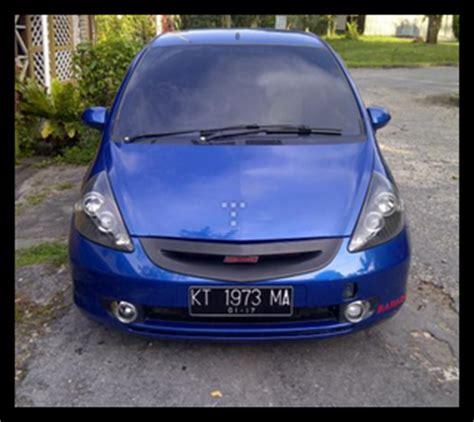 Spion Honda Jazz Tahun 2005 iklan bisnis samarinda dijual honda jazz tahun 2005 warna biru harga nego posisi mobil