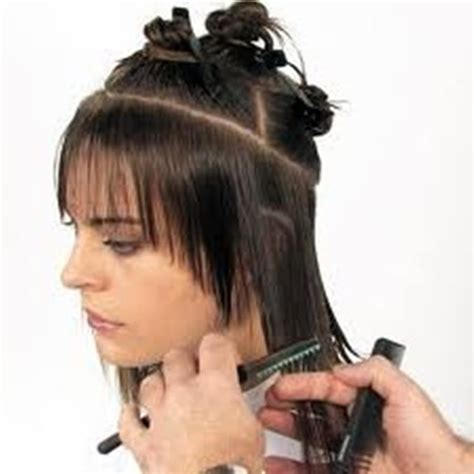 Gunting Tekstur mungkopas cara menipiskan rambut
