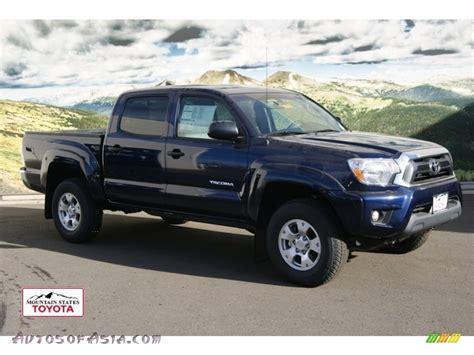 2012 Toyota Tacoma 4x4 2012 Toyota Tacoma V6 Sr5 Cab 4x4 In Nautical Blue