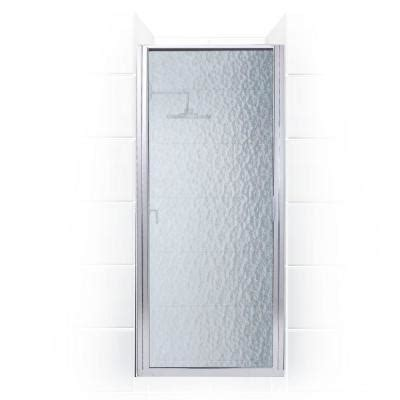 24 Glass Shower Door Coastal Shower Doors Paragon Series 24 In X 69 In Framed Continuous Hinged Shower Door In