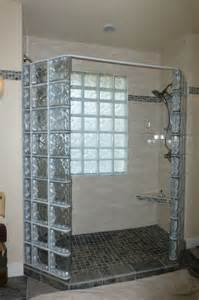 Shower Stall Designs Small Bathrooms how to create a luxury glass block shower with a frameless