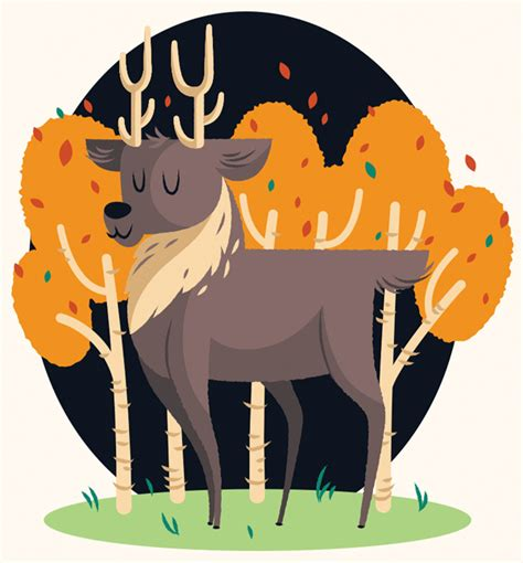 adobe illustrator pattern creation create a cute deer illustration in adobe illustrator