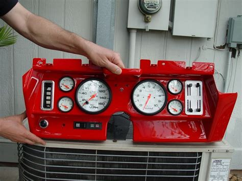 Panel Spedometer Custom Starlet custom dash for 1969 camaro re retrofit in a 69 using stock panel rods