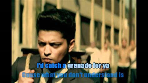 download mp3 karaoke bruno mars grenade bruno mars grenade karaoke youtube