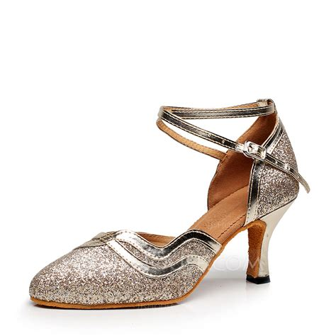 sparkling shoes for s sparkling glitter heels ballroom shoes