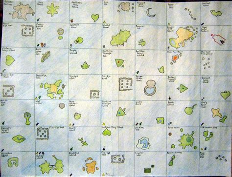 wind waker map wind waker map by yoshisghost on deviantart