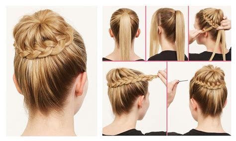 hair style step by step pic easy hairstyle ideas for college girls