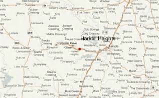 map of killeen and surrounding areas harker heights location guide