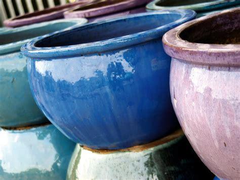 Ceramic Garden Plant Pots S Day Gift Ideas Blue Bergitt