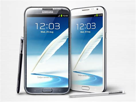 official samsung galaxy note ii specifications images details sammobile
