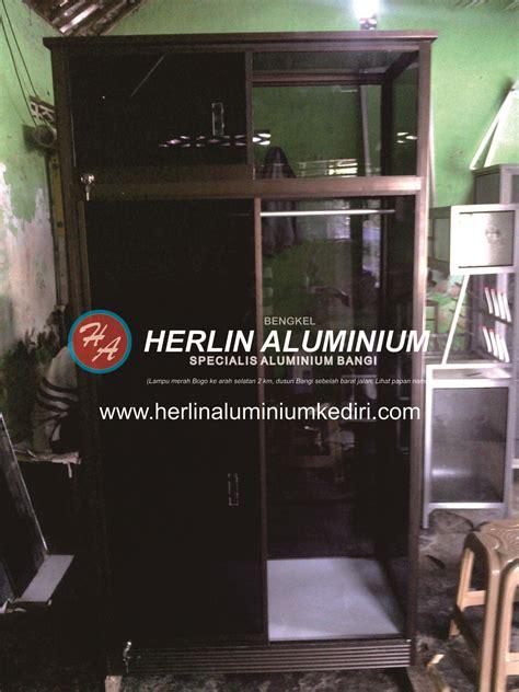 Lemari Plastik Di Tulungagung daftar harga lemari pakaian aluminium di herlin aluminium kediri jual lemari pakaian aluminium