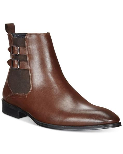 alfani s rory buckle chelsea boots only at