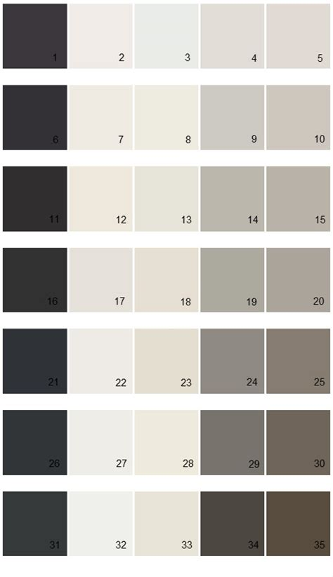 sherwin williams paint colors essentials palette 01 house paint colors