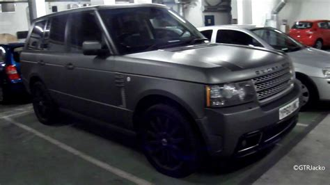 matte gray range rover matte grey overfinch range rover vogue walkaround youtube