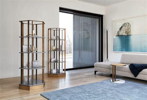 Black Wood Bookcase Ralf Low Table Meridiani