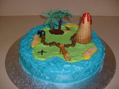 insel kuchen treasure island cake pirate birthday