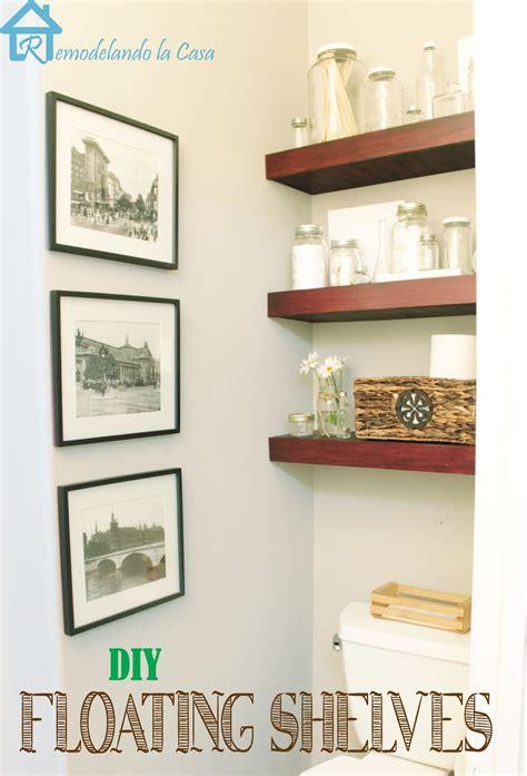 remodelando la casa diy floating shelves on hometalk