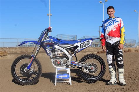 pro motocross riders johnston pro motocross rider tells his