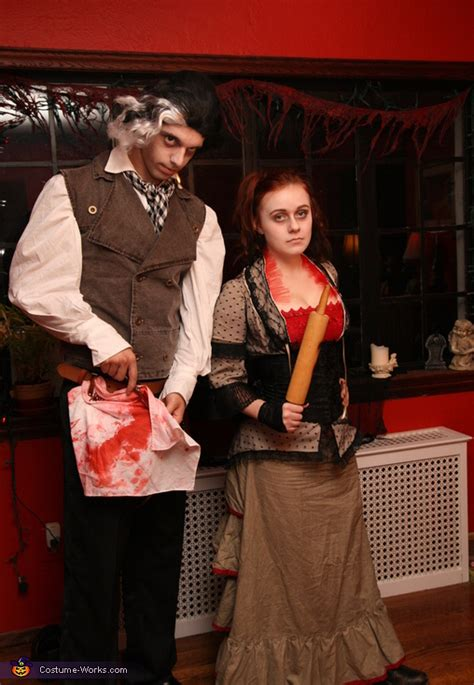 lovett  sweeney todd costume photo