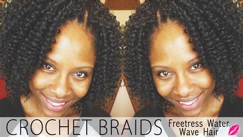 Crochet Braids with Freetress Water Wave Hair   Glamazini.com
