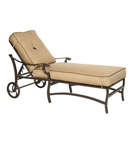 luxury chaise lounge chairs monterey cushioned chaise lounge castelle luxury outdoor
