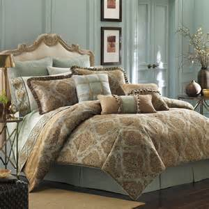 Sofa King Wine Croscill Laviano Queen Comforter Set