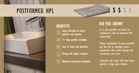 Post Formed Countertop by What Is Post Formed Plastic Laminate