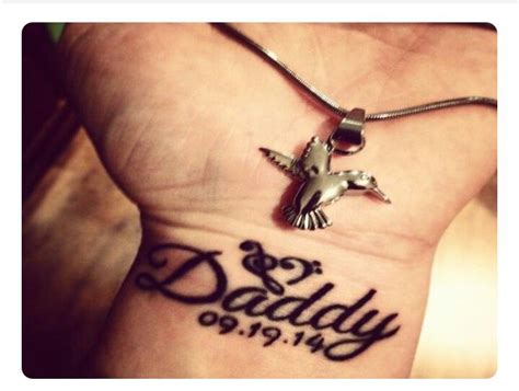rip dad wrist tattoos 49 best images about tattoos on my wing