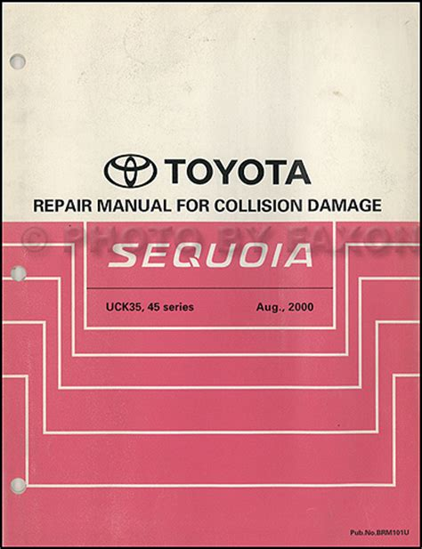 service manual manual repair autos 2003 toyota sequoia electronic toll collection service 2005 toyota sequoia wiring diagram manual original