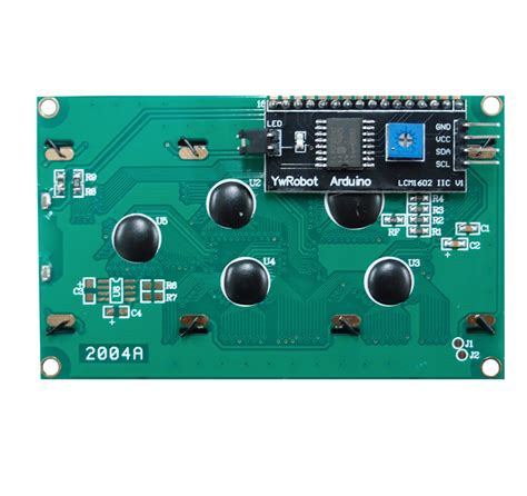 Ready Stock Lcd 1602 2004 I2c Serial Interface Backpack 20x4 lcd display i2c white on blue philippines