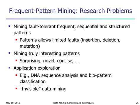 pattern analysis and data mining lecture for chapter 5 mining frequent patterns